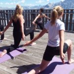 free class of yoga at hight altitude in Ra Valles